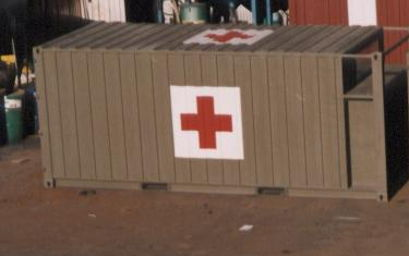 Military Medical Container